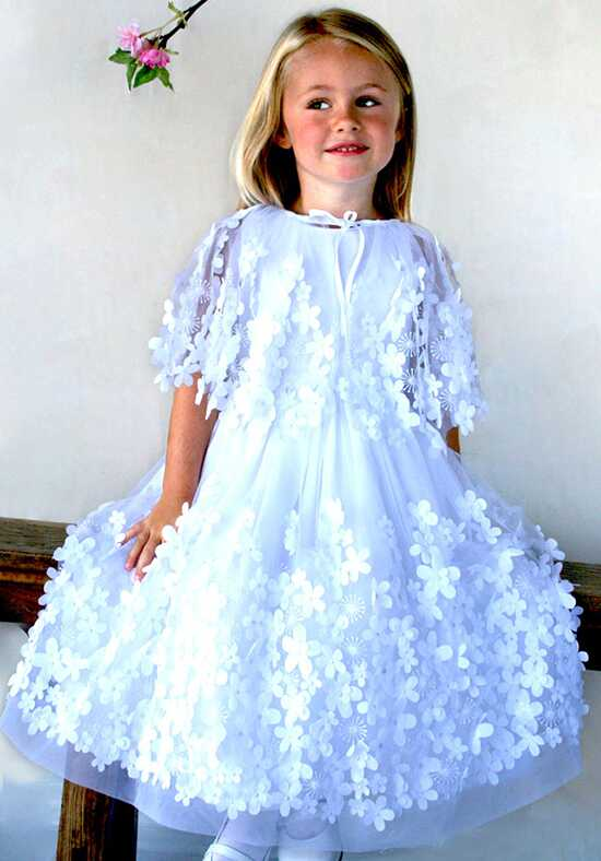 Isabel Garretón Flight of Fancy White Flower Girl Dress