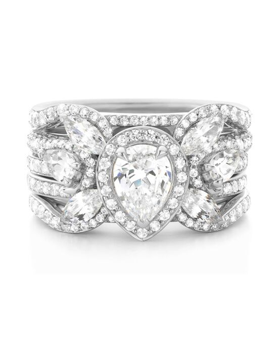 Laurence Bruyninckx Pear Cut Engagement Ring