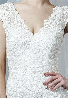 Saison Blanche Couture B3144 Sheath Wedding Dress