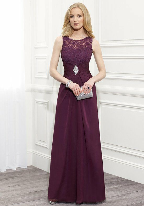 Val Stefani Celebrations MB7357 Purple Mother Of The Bride Dress