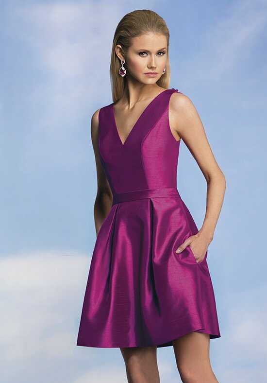 JASMINE P176008K V-Neck Bridesmaid Dress
