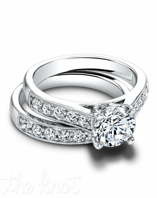Jeff Cooper RP-1603 & RP-1603B Platinum, White Gold Wedding Ring