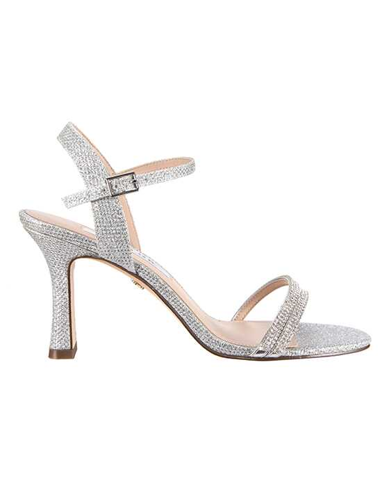 Nina Bridal Wedding Accessories Avalon Silver Shoe