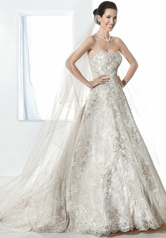Demetrios 1473 A-Line Wedding Dress