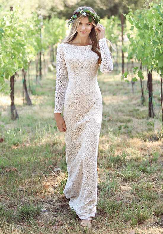 Modest by Mon Cheri TR11832 Sheath Wedding Dress