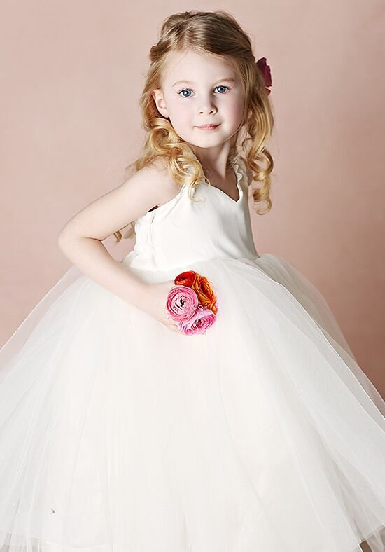 FATTIEPIE Kelly Ivory Flower Girl Dress