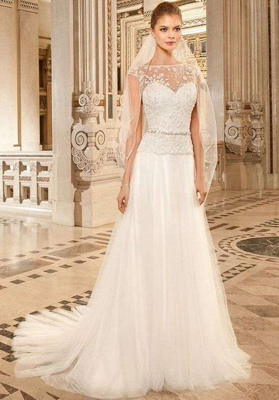 Demetrios GR265 A-Line Wedding Dress