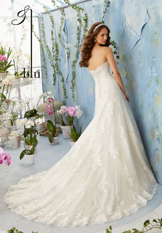 Morilee by Madeline Gardner/Blu 5404 Wedding Dress - The Knot