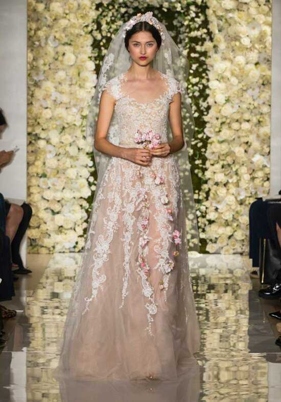 Reem Acra I'm Stunning A-Line Wedding Dress