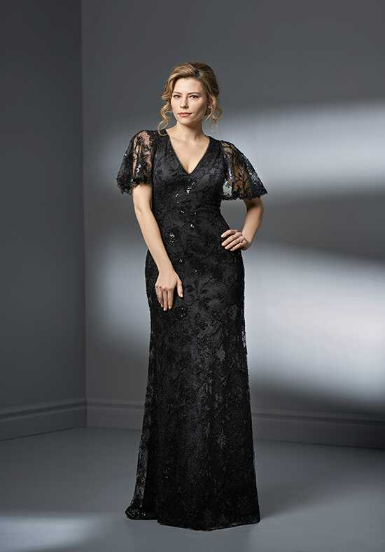 Jade Couture K198057 Black Mother Of The Bride Dress