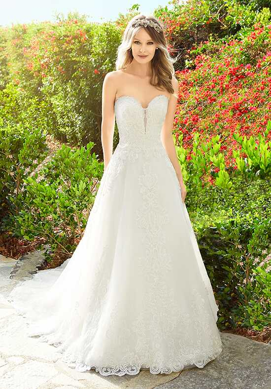 Moonlight Couture H1333 Ball Gown Wedding Dress