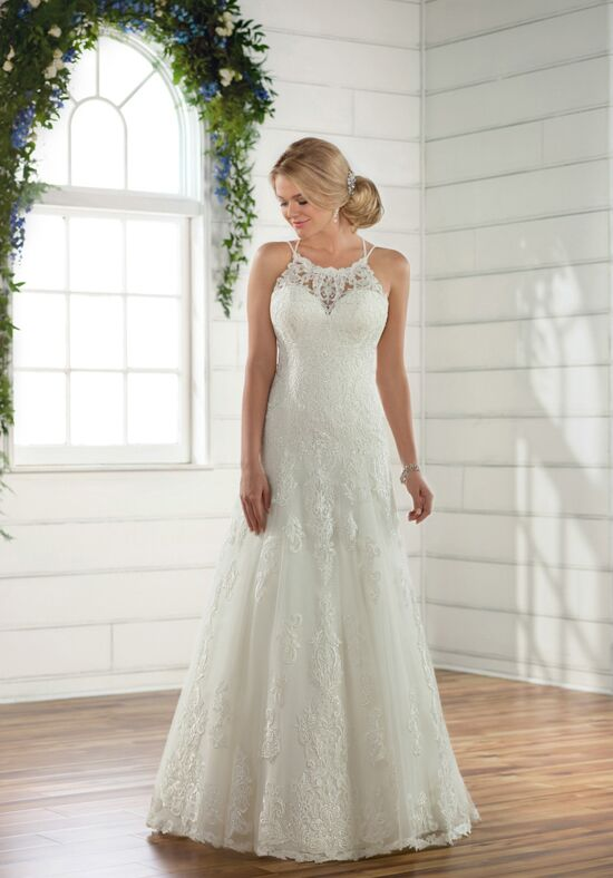 Essense of Australia D2445 A-Line Wedding Dress