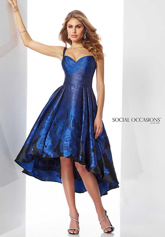 Social Occasions by Mon Cheri 217843 Blue Mother Of The Bride Dress
