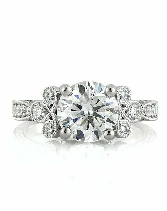 Mark Broumand 3.54ct Round Brilliant Cut Diamond Engagement Ring Engagement Ring photo