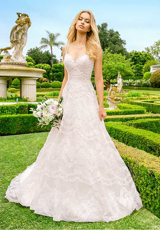 Moonlight Couture H1344 A-Line Wedding Dress