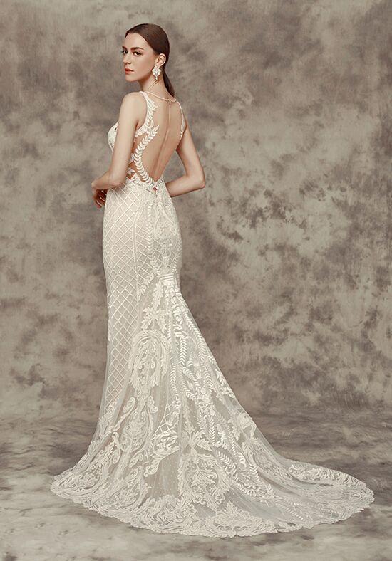 Calla blanche 16243 victoria wedding dress the knot for Calla blanche wedding dress