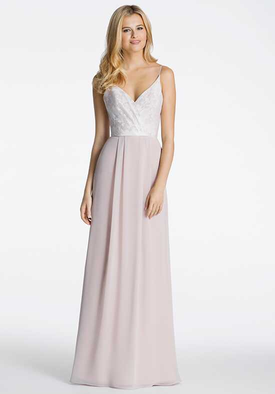 Hayley Paige Occasions 5605 V-Neck Bridesmaid Dress