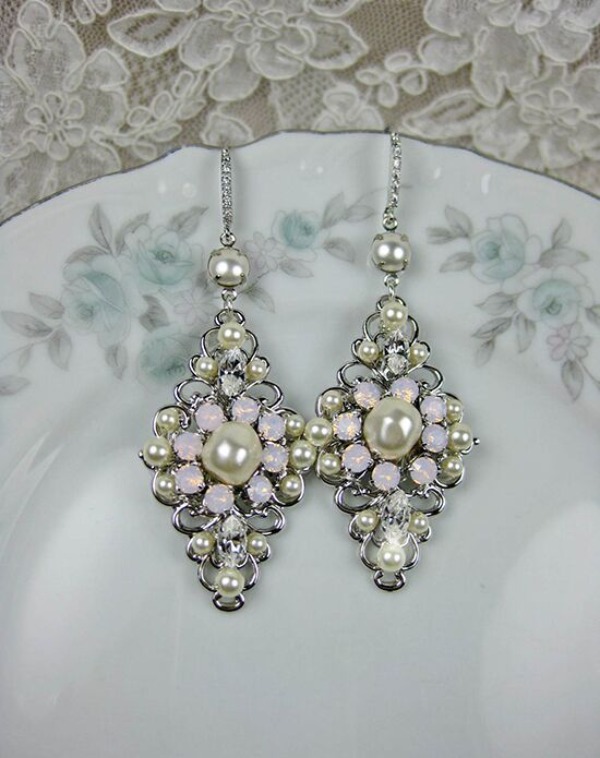 Everything Angelic Xenia Earrings - e355 pink Wedding Earring photo