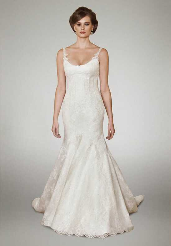 Matthew Christopher Camber Mermaid Wedding Dress