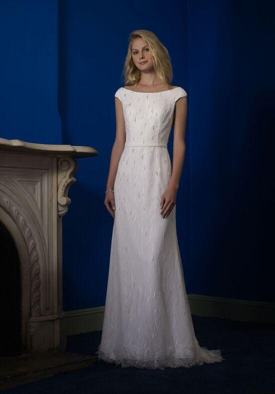 Robert Bullock Bride Paisley Sheath Wedding Dress