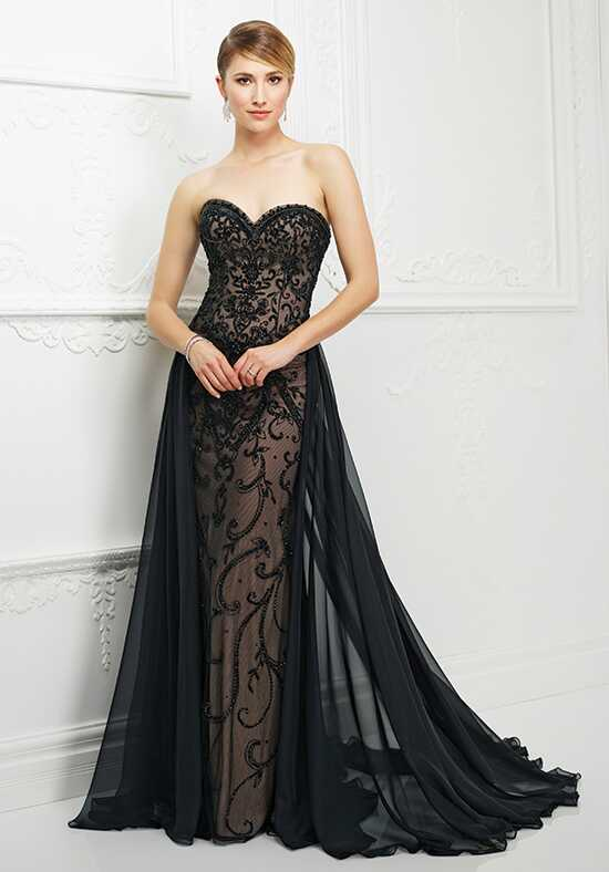 Ivonne D. 217D86 Black Mother Of The Bride Dress