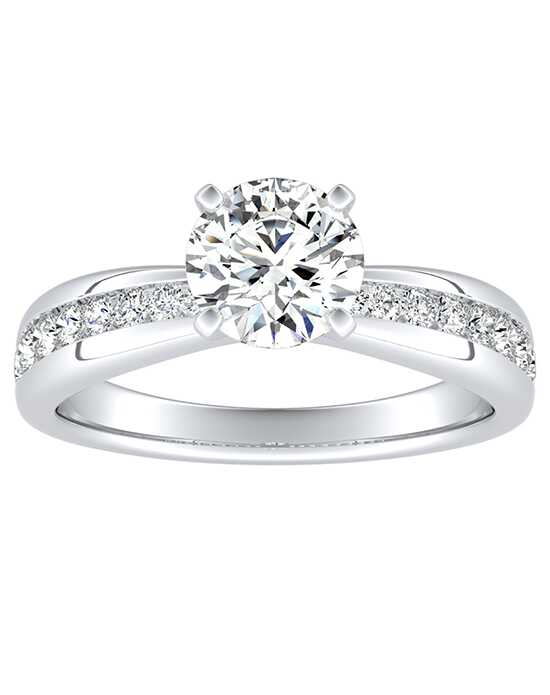 DiamondWish.com Classic Princess, Asscher, Cushion, Emerald, Marquise, Pear, Round, Oval Cut Engagement Ring