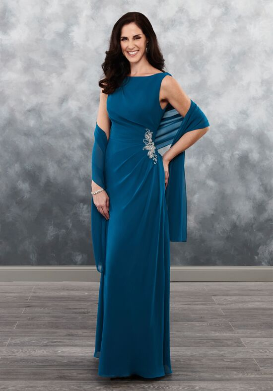 Beautiful Mothers by Mary's MB8029 Black Mother Of The Bride Dress