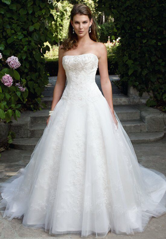 Casablanca Bridal 2033 Ball Gown Wedding Dress
