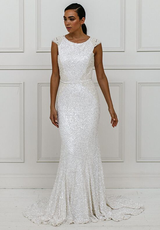 KAREN WILLIS HOLMES Roxanna Mermaid Wedding Dress