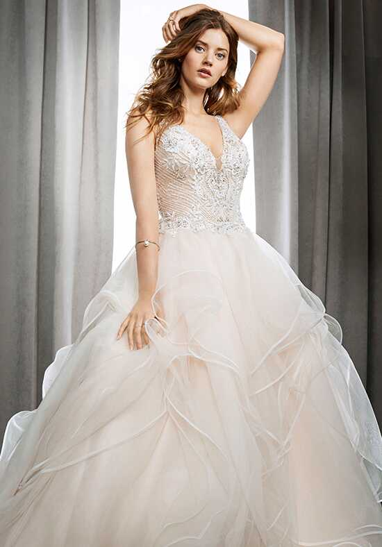 Kenneth Winston 1718 Ball Gown Wedding Dress