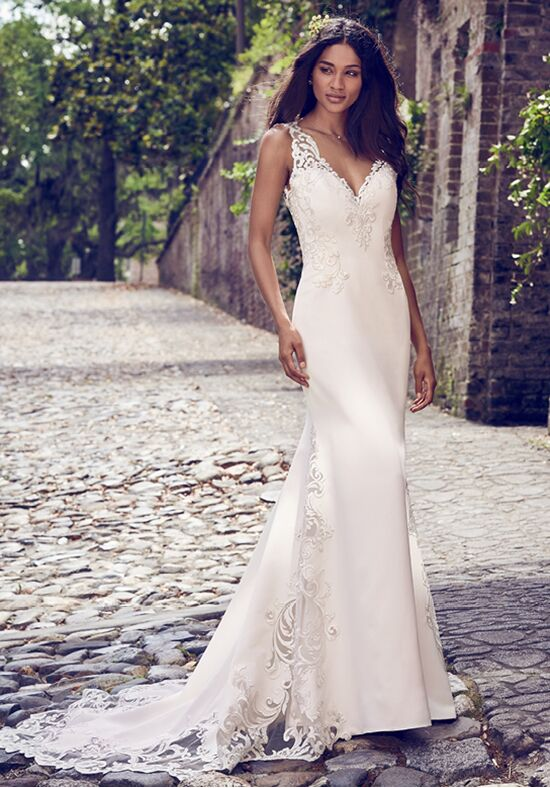 Maggie Sottero Veronica Sheath Wedding Dress