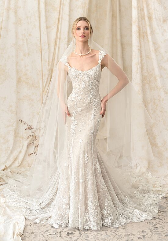 Justin Alexander Signature 9893 Mermaid Wedding Dress