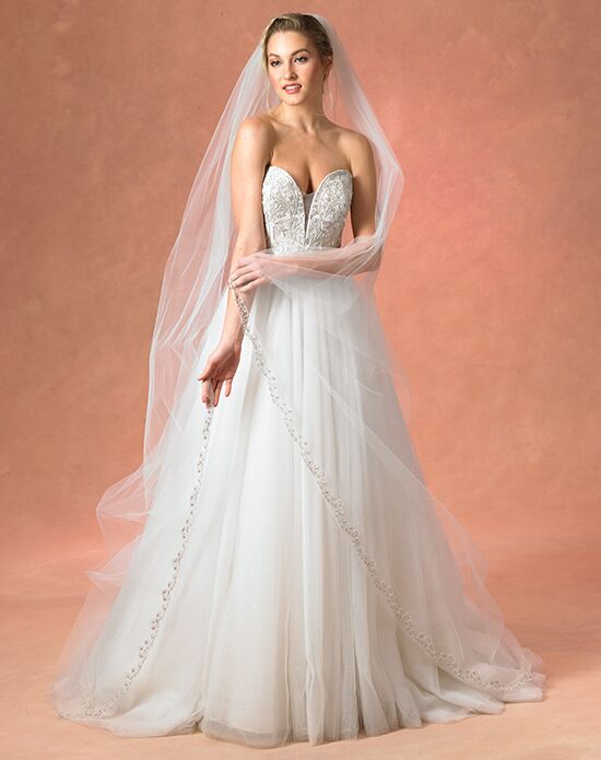 Bliss by Blossom Veils BVL10007 Ivory Veil