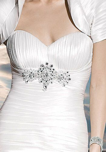 Demetrios 4298 Mermaid Wedding Dress