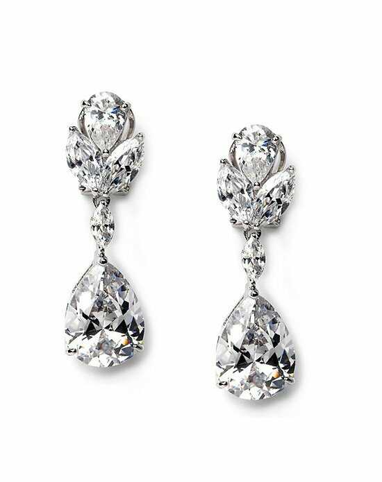 USABride Vibrant Floral CZ Earrings JE-1190 Wedding Earring photo