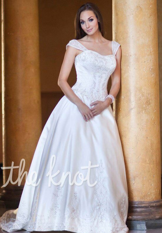 Kenneth Winston 1463 Ball Gown Wedding Dress