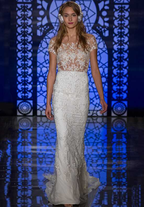 Reem Acra Leticia Sheath Wedding Dress