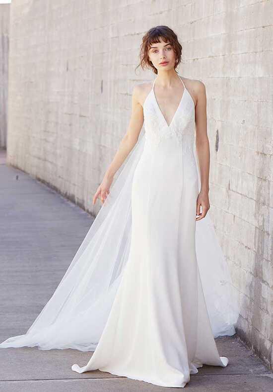 Halter wedding dresses for Nouvelle amsale wedding dress