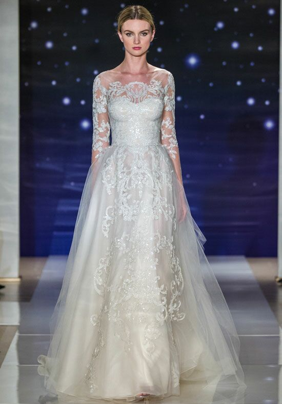 Reem Acra She's Outstanding A-Line Wedding Dress