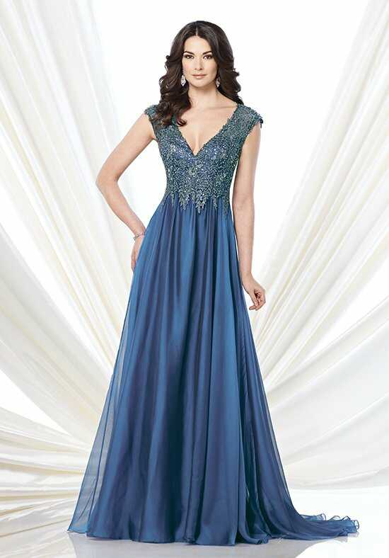 Montage by Mon Cheri 215900 Blue Mother Of The Bride Dress