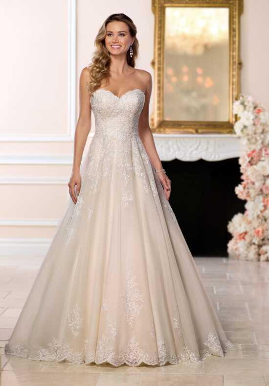 Stella York 6563 A Line Wedding Dress