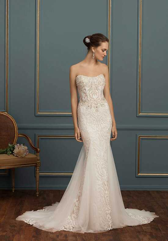 Amaré Couture by Crystal Richard C121 Nicolette Mermaid Wedding Dress