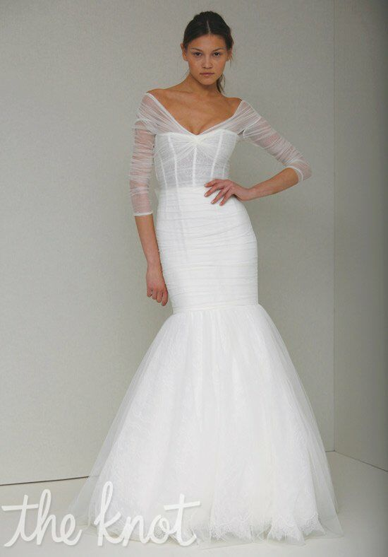 Monique Lhuillier Addie Mermaid Wedding Dress