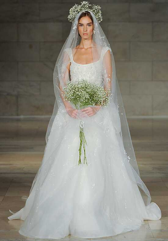Reem Acra Mesmerized Ball Gown Wedding Dress
