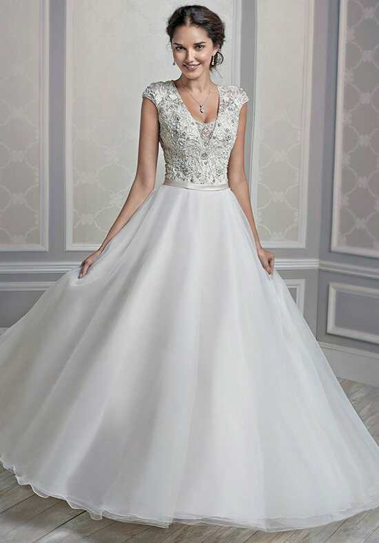 Kenneth Winston 1601 Ball Gown Wedding Dress