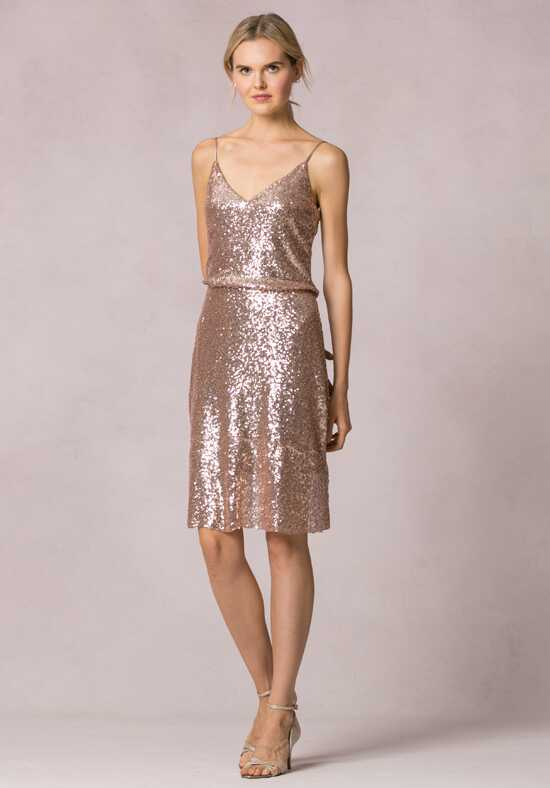Jenny Yoo Collection (Maids) Emery V-Neck Bridesmaid Dress
