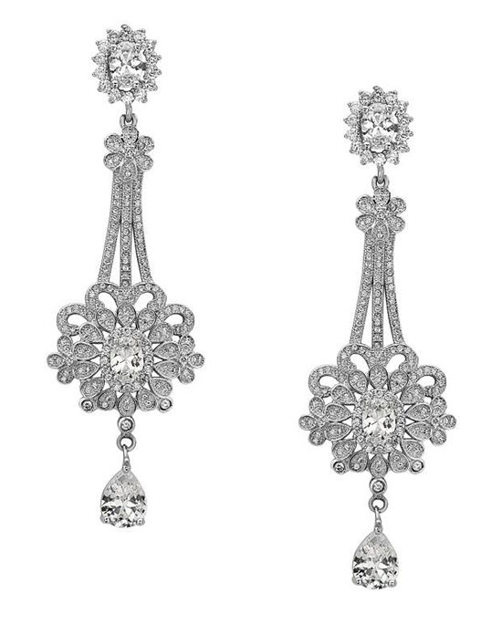 Nina Bridal Wedding Jewelry Zetta Earring Wedding Earring photo
