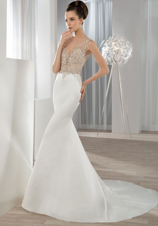 Demetrios 612 Mermaid Wedding Dress