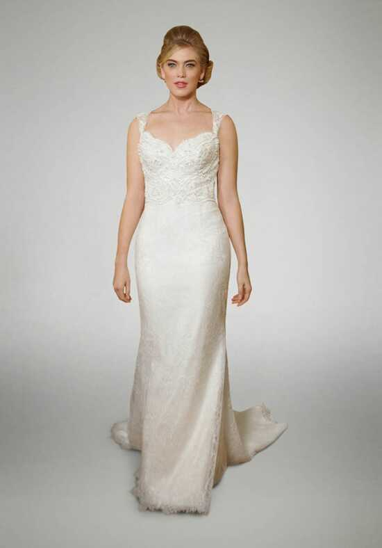 Matthew Christopher Clara Sheath Wedding Dress