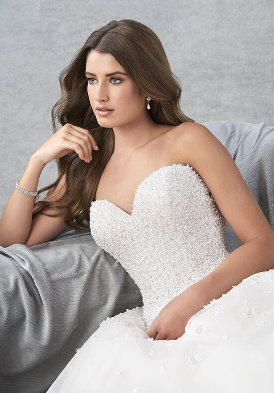 Essence Collection by Bonny Bridal 8800 Ball Gown Wedding Dress